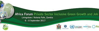 Africa Forum Private Sector Inclusive Green Growth and Job Creation